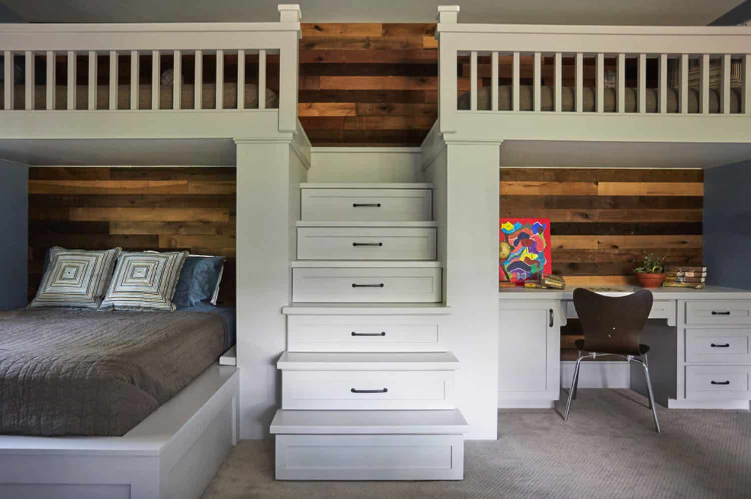 traditional-kids-bunk-bedroom