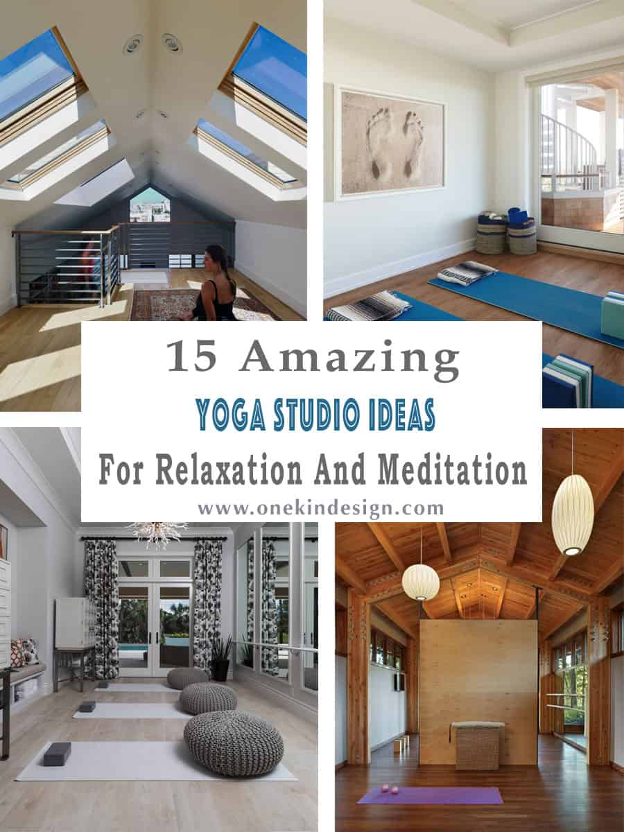 15 Amazing Home Yoga Studio Ideas For Relaxation And Meditation