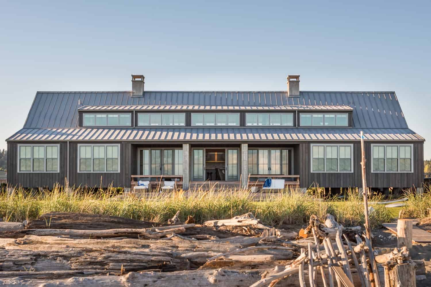 Waterfront shelter has amazing beach-chic lifestyle on Whidbey Island