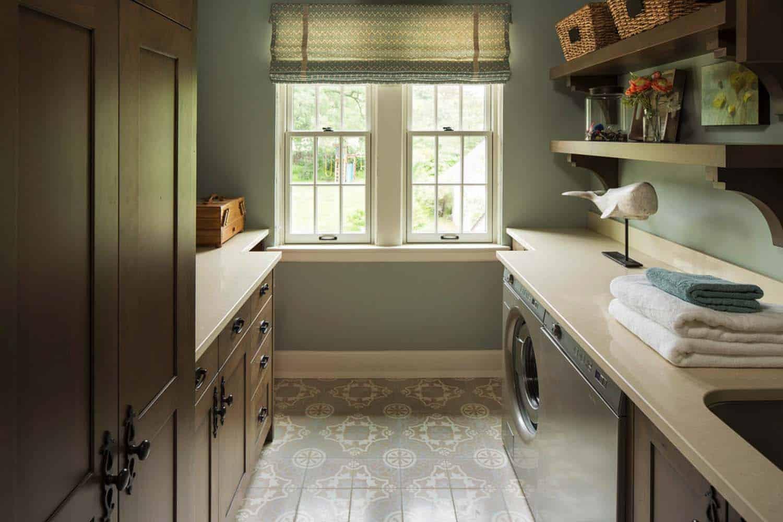 tudor-style-laundry-room