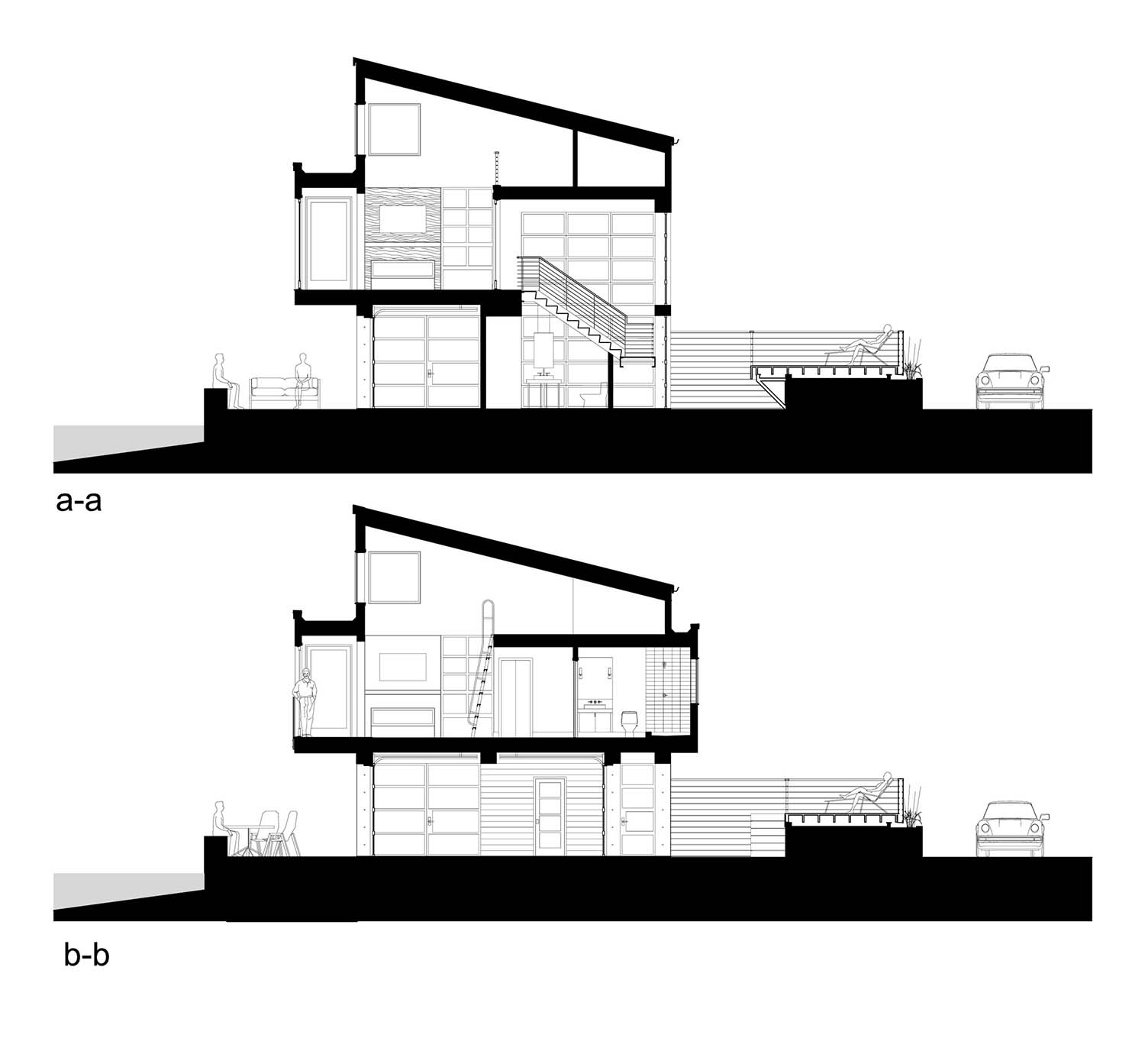 contemporary-waterfront-home-section-plan