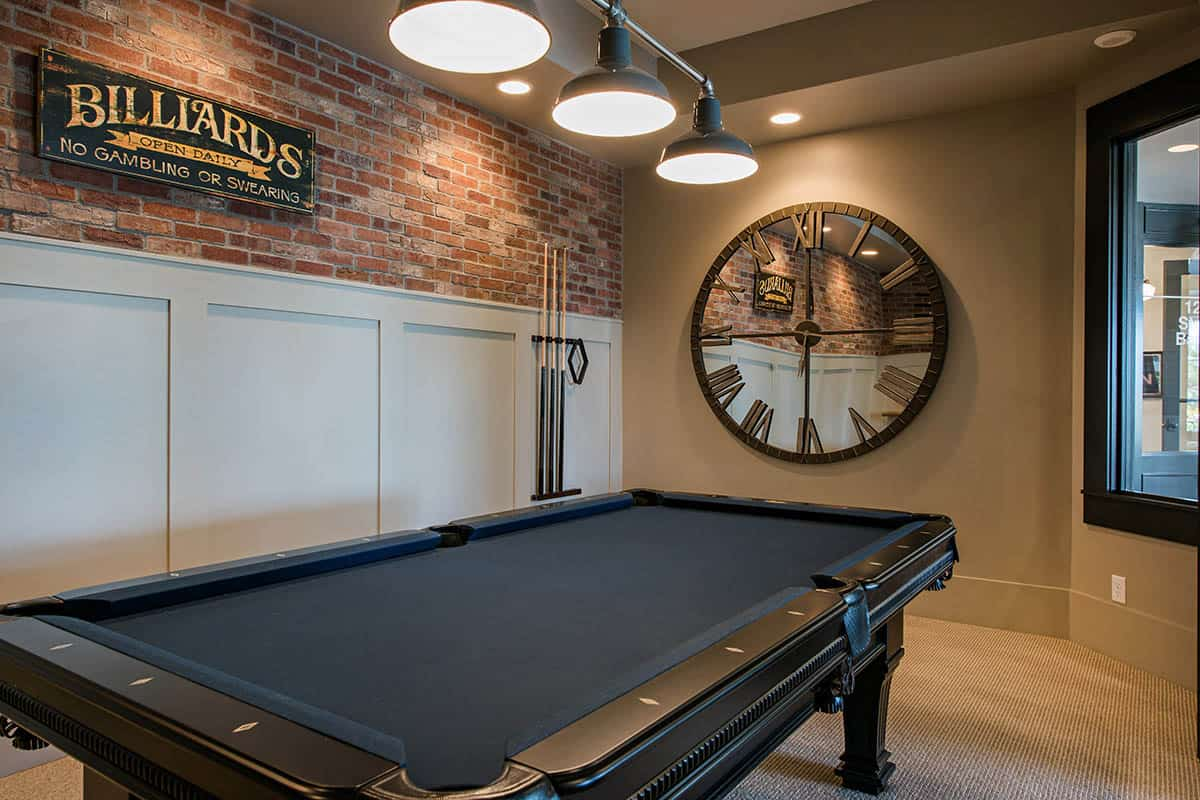 transitional-style-basement-billiard-room