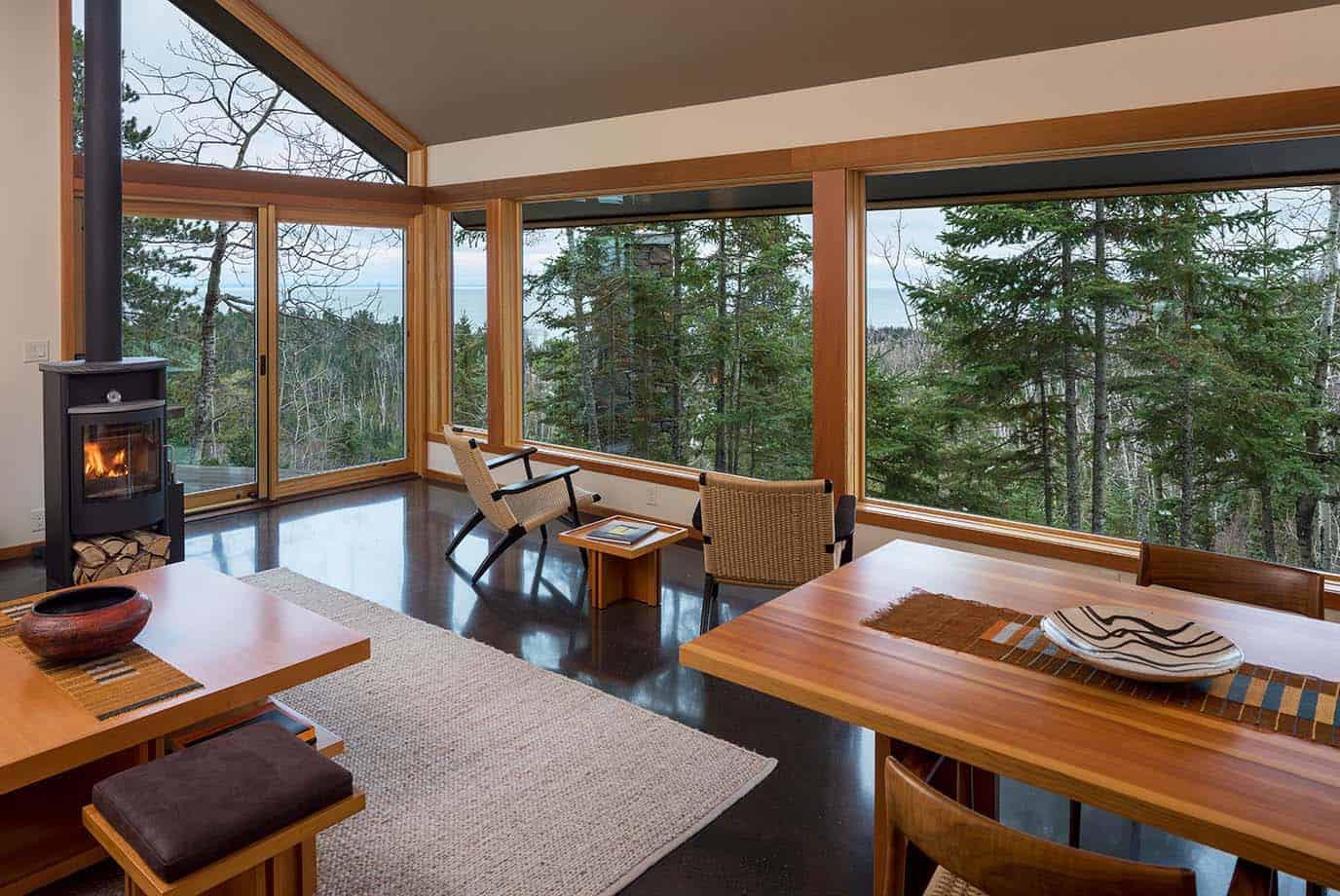 contemporary-cabin-living-room