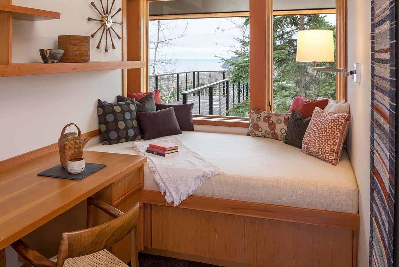 contemporary-cabin-bedroom