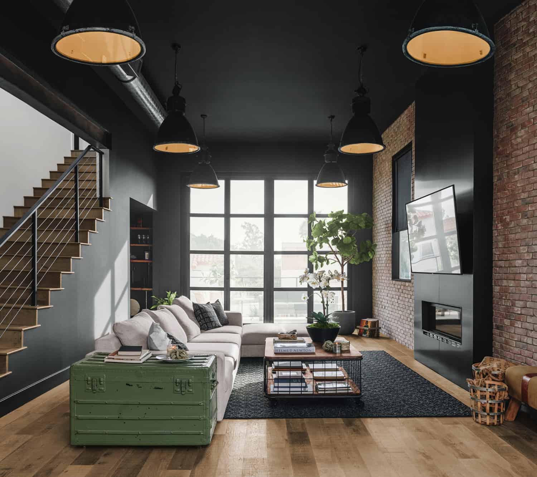 flooring-ideas-living-room-industrial