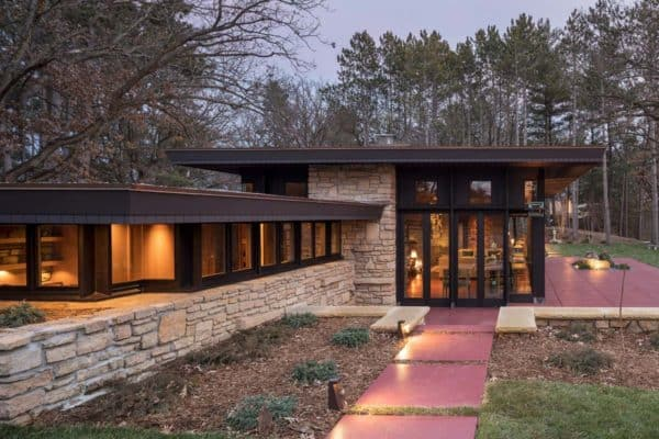 featured posts image for Frank Lloyd Wright designed home boasts inspiring renovation in Minnesota