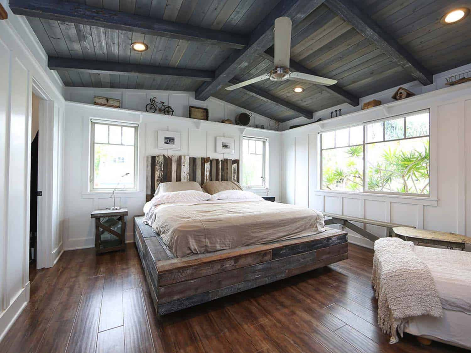 Craftsman style dream home in California showcasing reclaimed materials