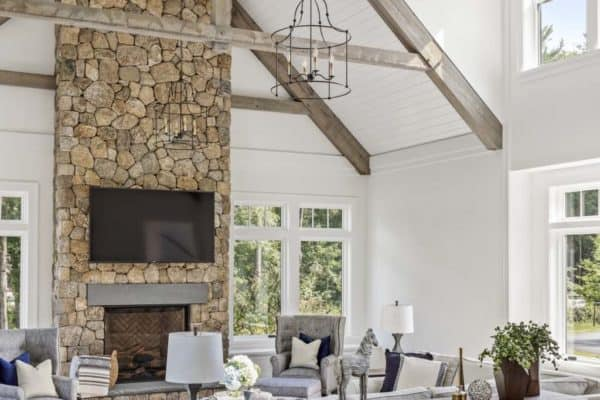 featured posts image for Shingle style farmhouse rooted in the traditions of its New England locale