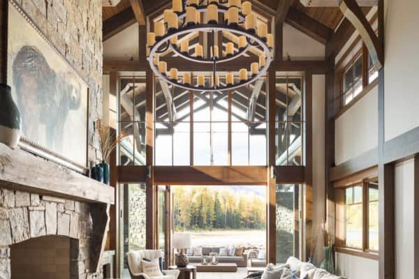 featured posts image for Absolutely gorgeous timber frame mountain chalet in British Columbia