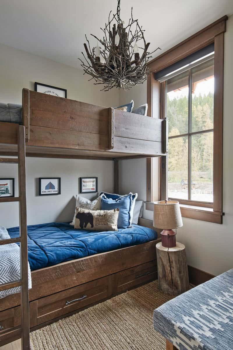 rustic-kids-bunk-bedroom