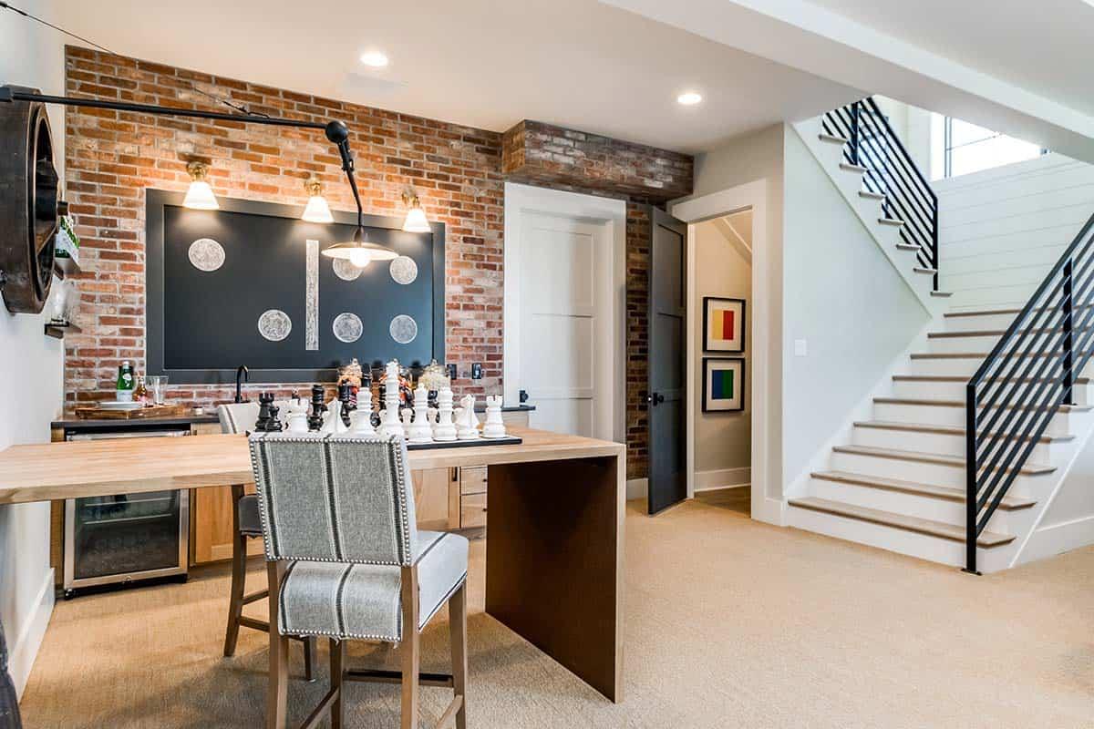 urban-farmhouse-basement-game-room