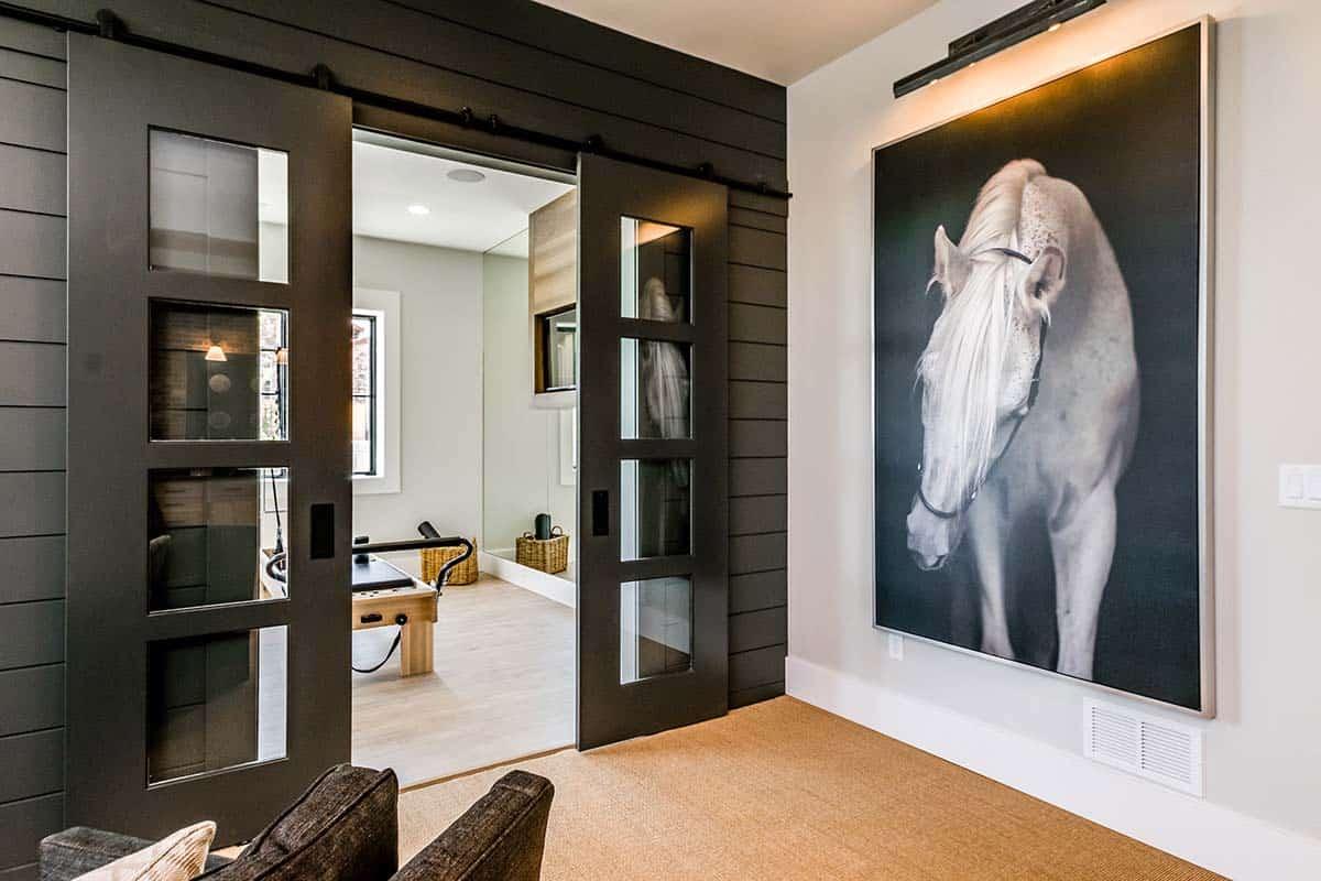 urban-farmhouse-basement-hallway