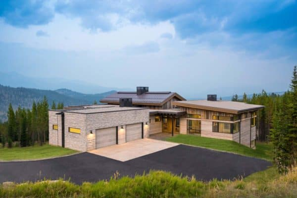 featured posts image for Spectacular modern alpine home boasts endless Rocky Mountain views