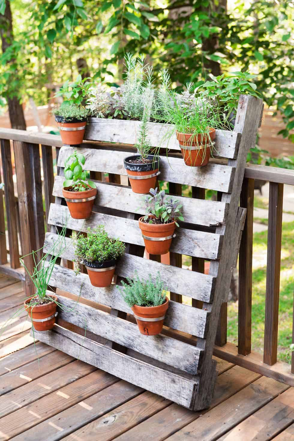 Recycled Wood Pallet Garden Ideas To Diy