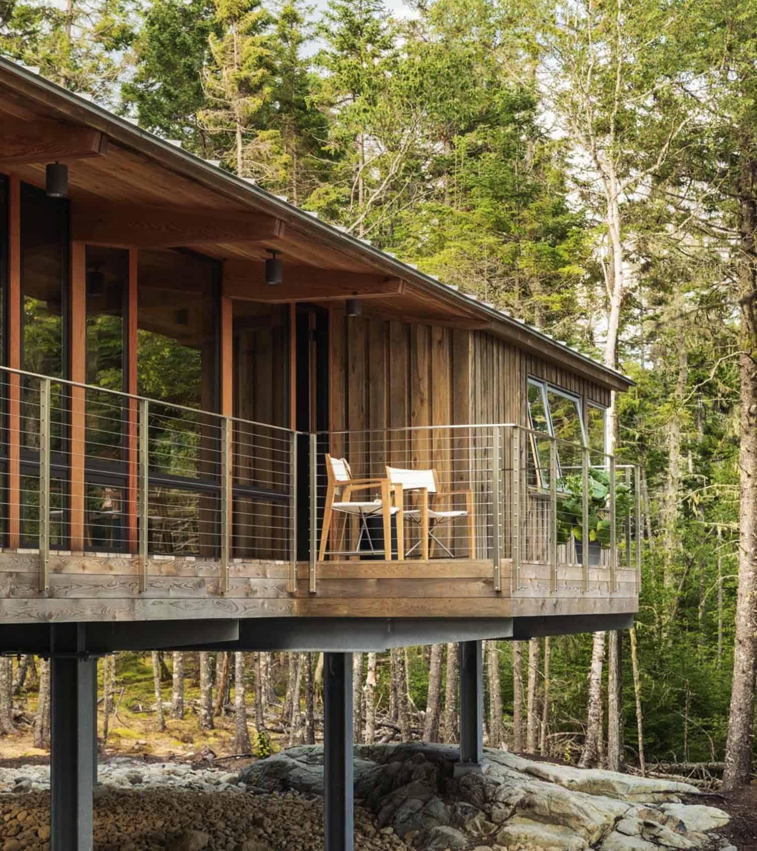 rustic-modern-cabin-retreat-porch
