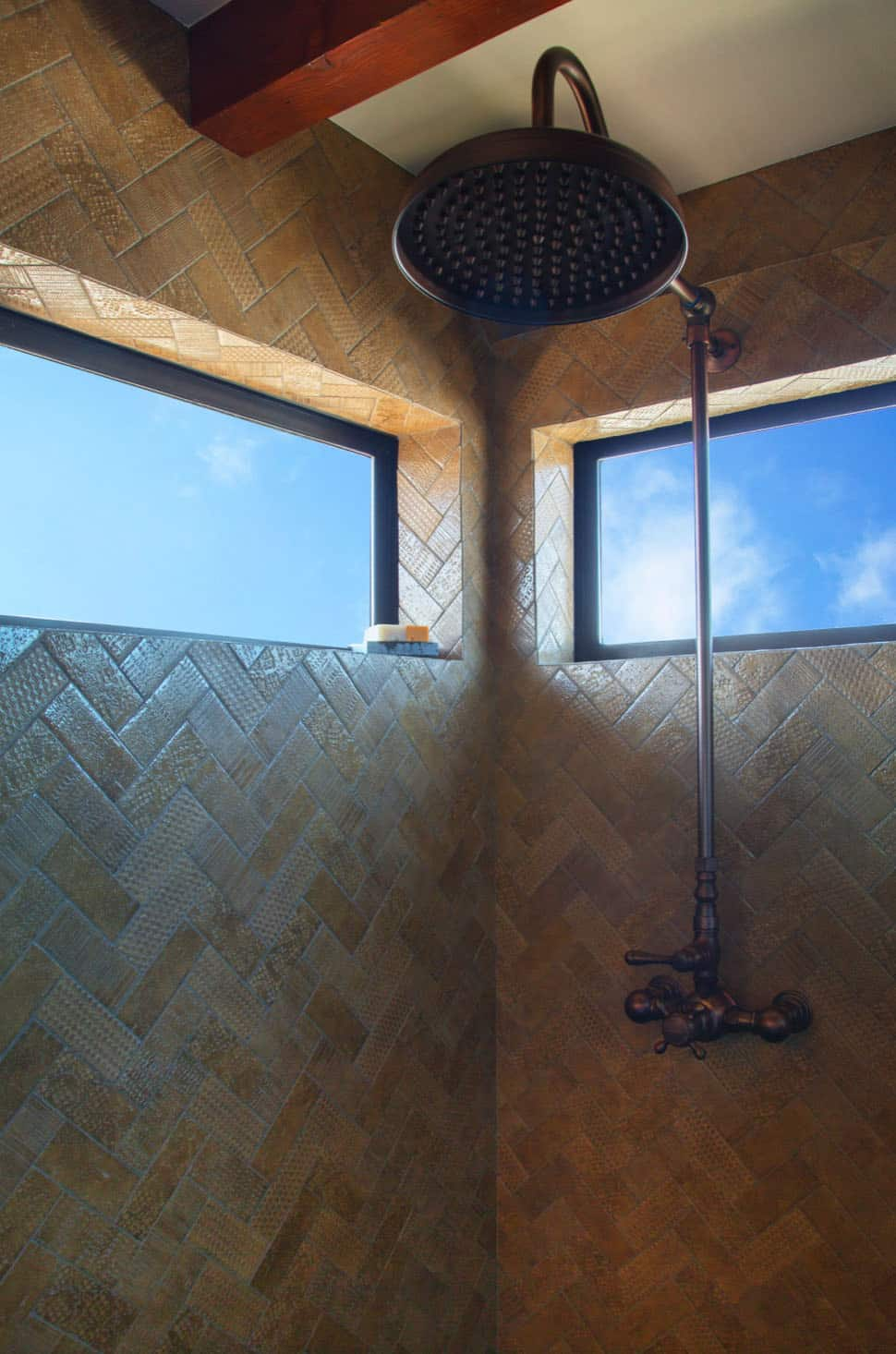 eclectic-bathroom-shower