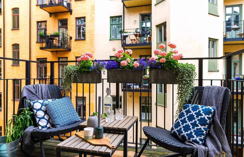 21+ Incredibly Inspiring Apartment Balcony Design Ideas