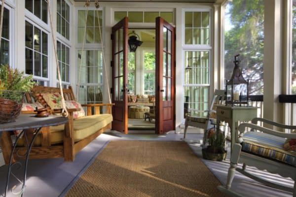 featured posts image for 15+ Charming Southern Style Screened Porch Ideas To Love All Season