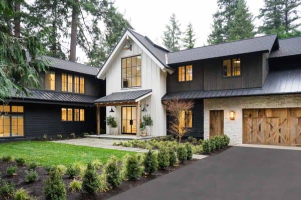 featured posts image for Dreamy farmhouse style home perched on the shoreline of Puget Sound