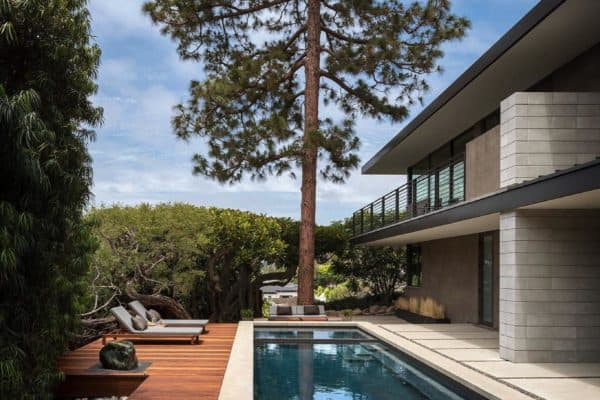 featured posts image for Serene midcentury modern home remodel in Southern California