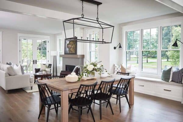 featured posts image for Tour this delightful modern farmhouse with cozy details in Michigan