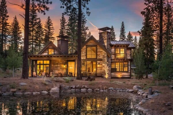 featured posts image for Rustic mountain cabin retreat surrounded by tranquility in Sierra Nevadas
