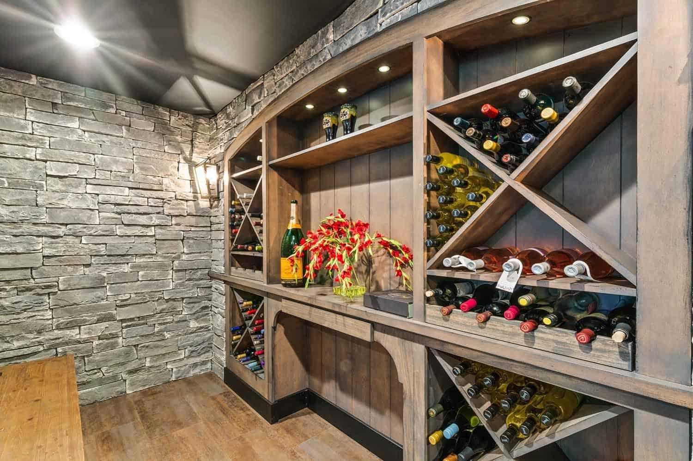 modern-farmhouse-basement-wine-cellar
