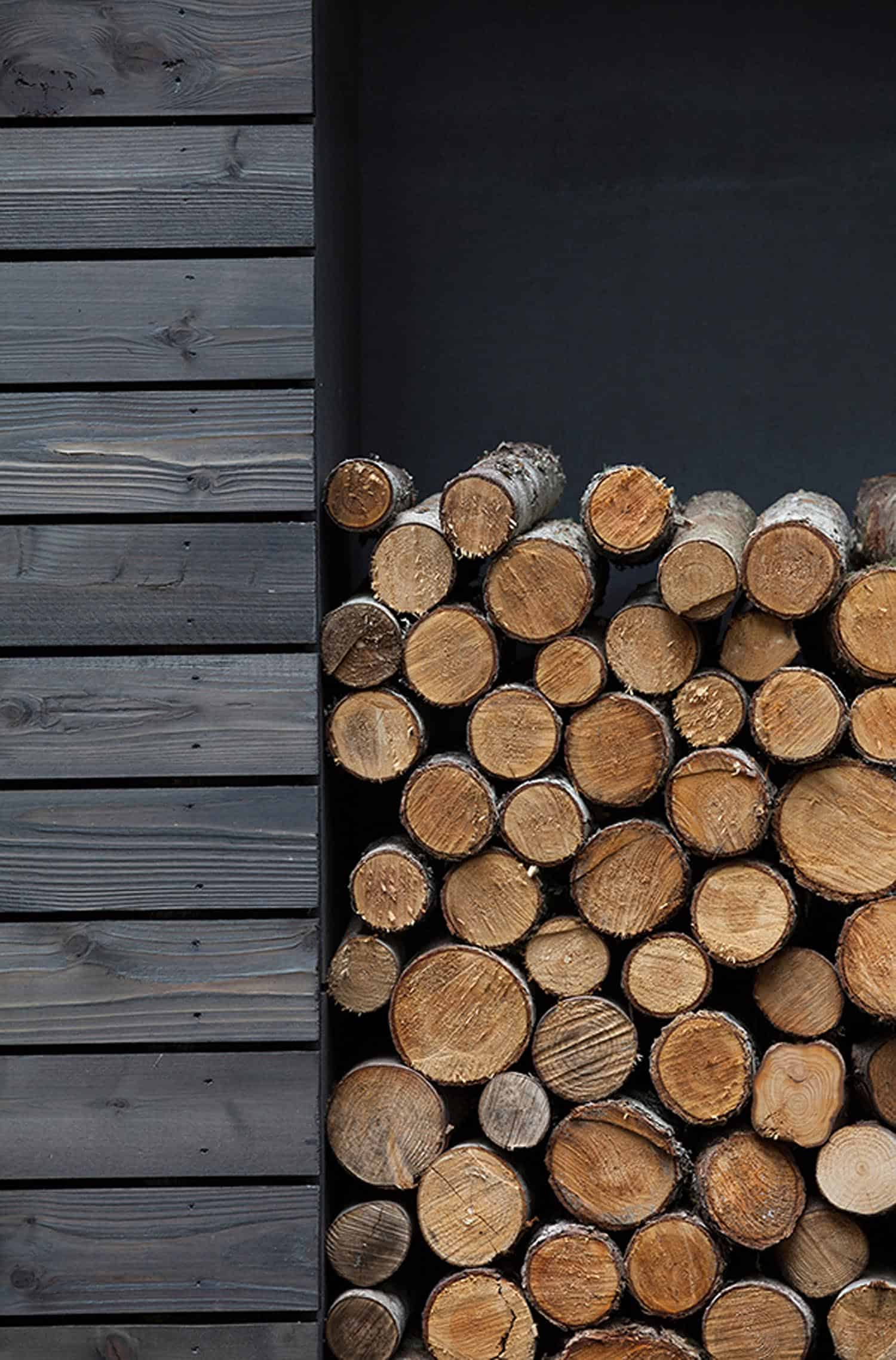 modern-compact-cabin-exterior-fire-wood