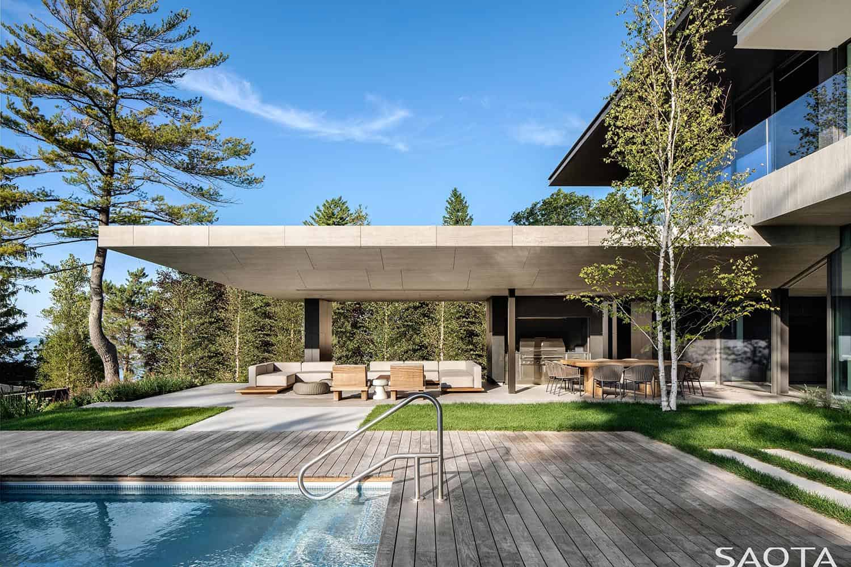 modern-summer-home-retreat-pool