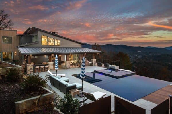 featured posts image for Beautifully inspiring mountain home nestled in the Blue Ridge Mountains