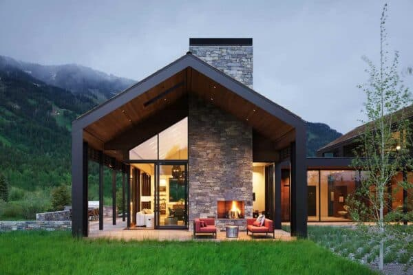 featured posts image for Serene mountain getaway nestled at the base of majestic Teton Range