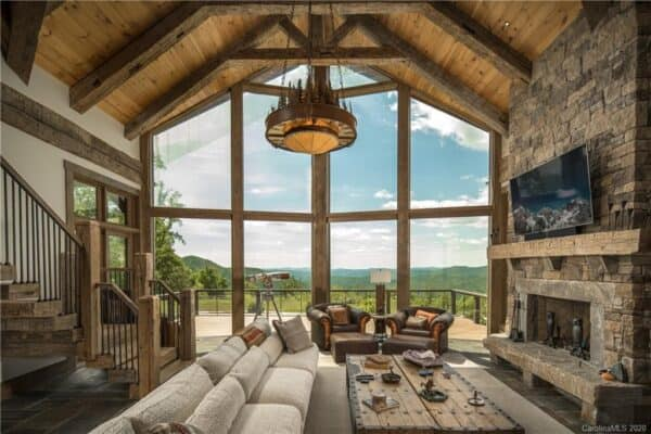 featured posts image for Mountain modern sanctuary boasts sweeping views of Blue Ridge Mountains