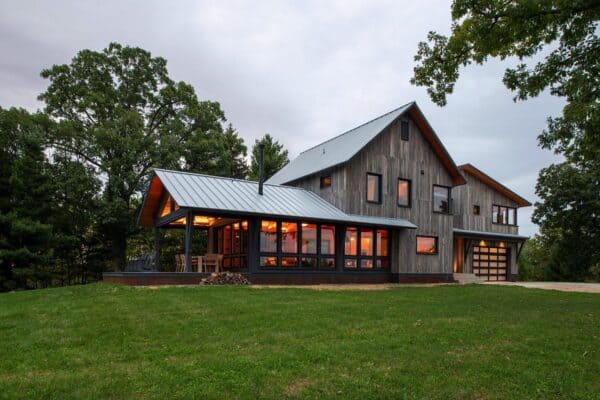 featured posts image for This delightful rustic rural retreat offers a serene getaway in Wisconsin