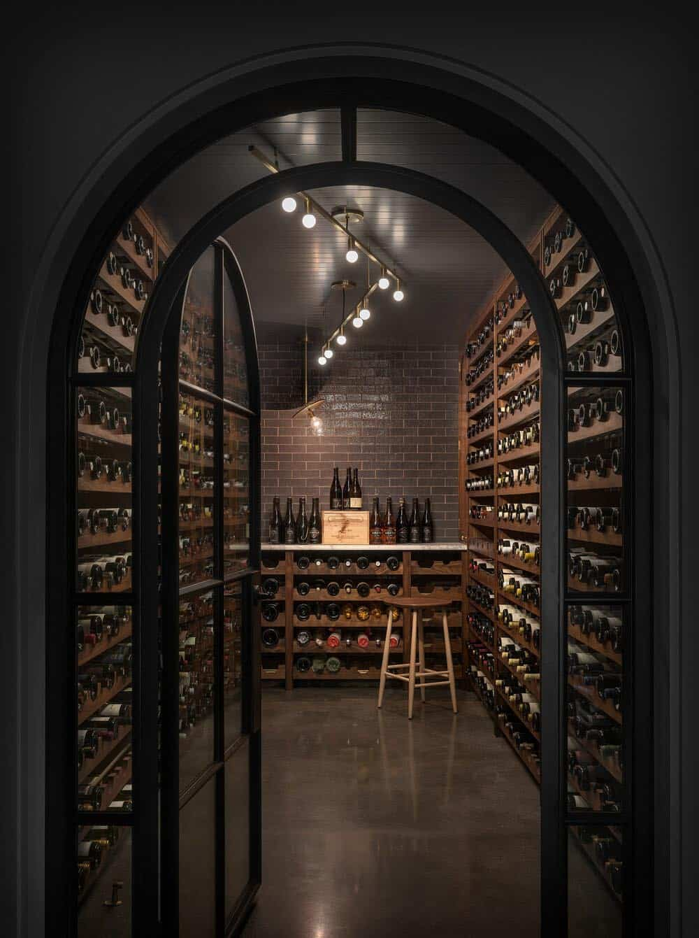 contemporary-house-wine-cellar