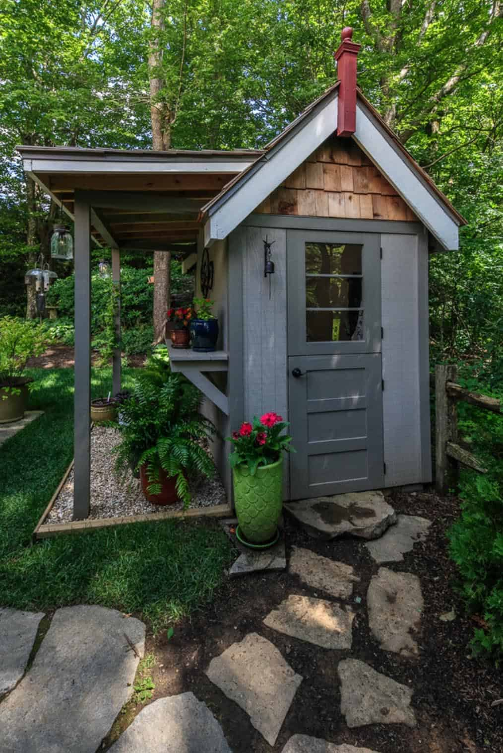 32 Most Amazing Backyard Shed Ideas For An Inviting Garden