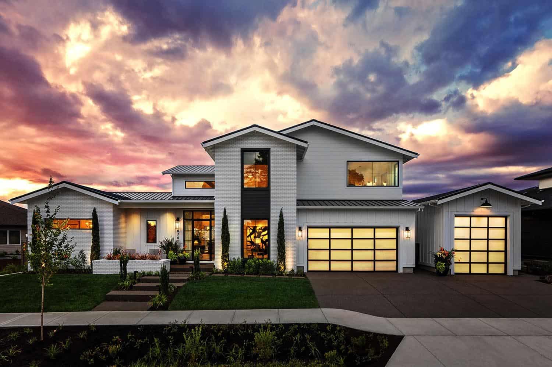 Farmhouse style house in Oregon has absolutely delightful design ideas