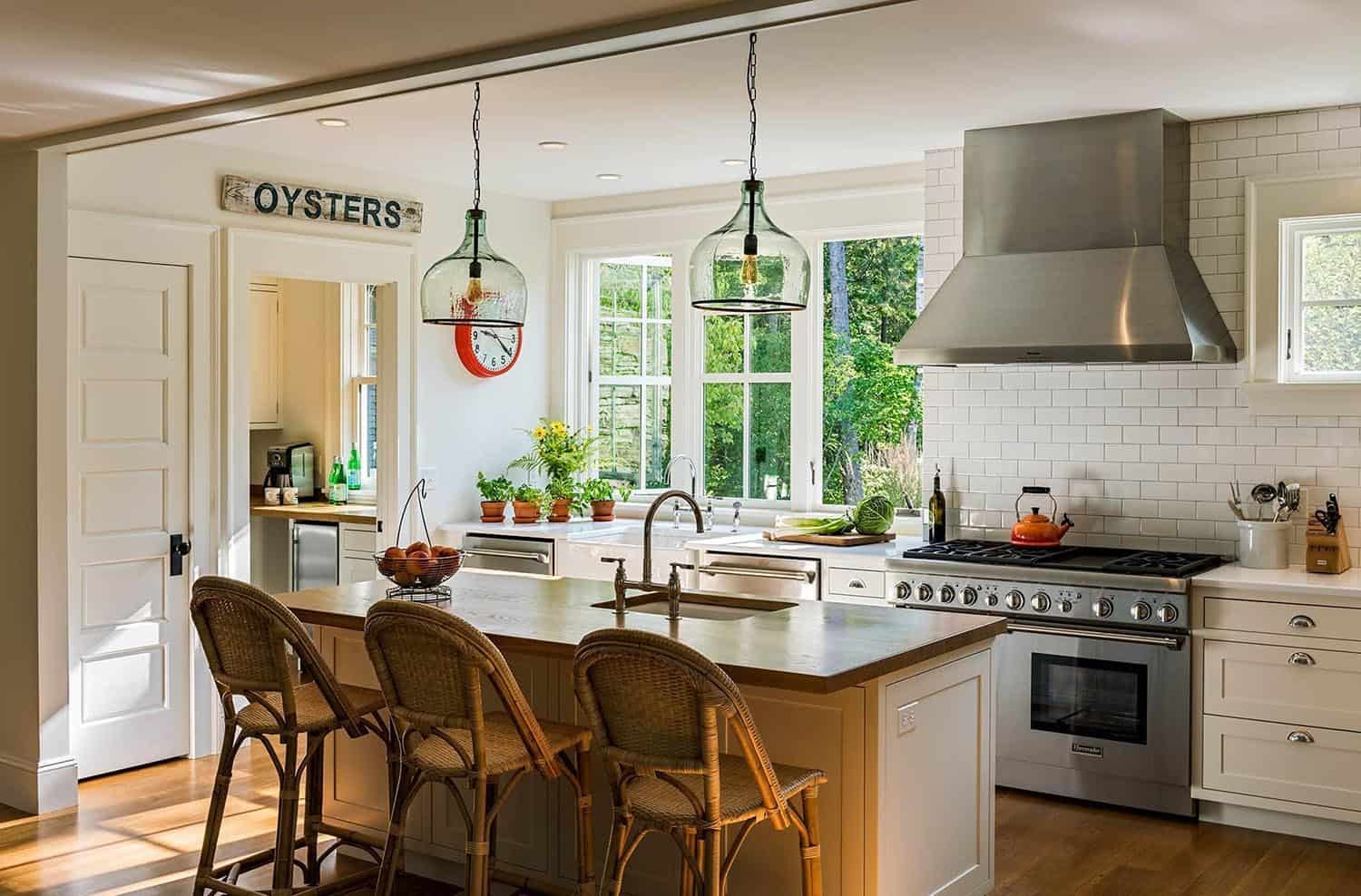 Tour this charming Maine cottage designed for a multi-generational family