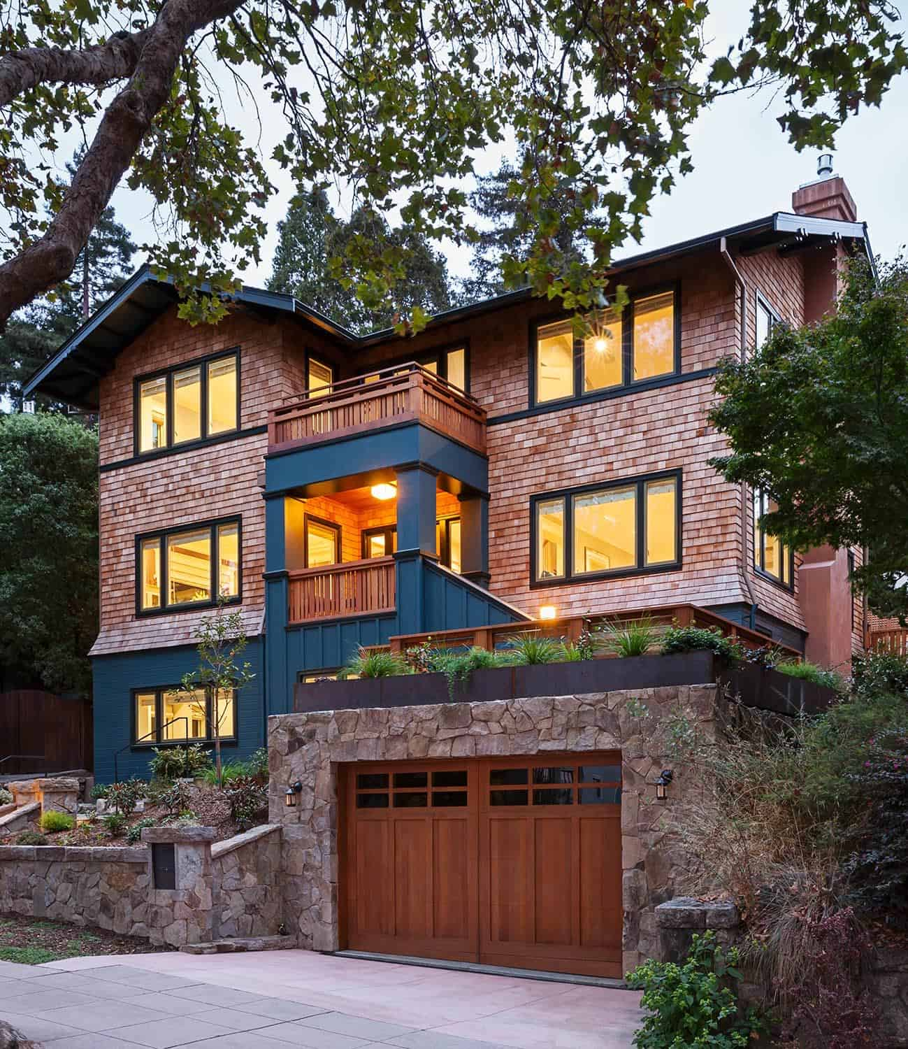 Beautiful update to a modern craftsman style home in Northern California