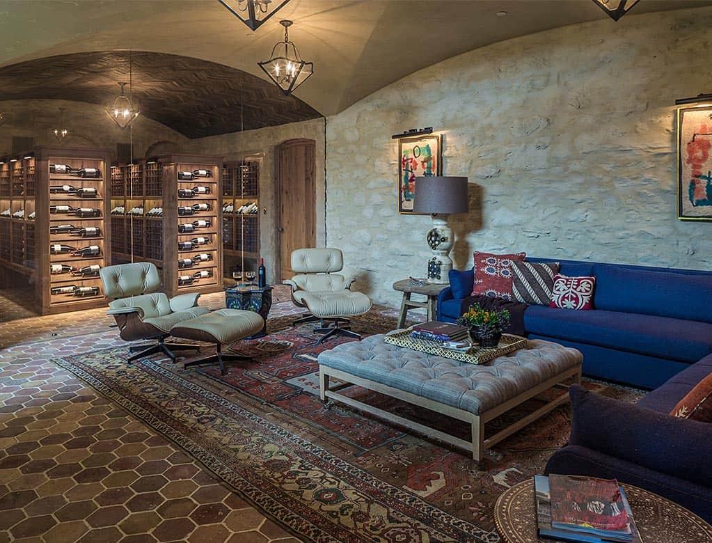 farmhouse-modern-wine-cellar