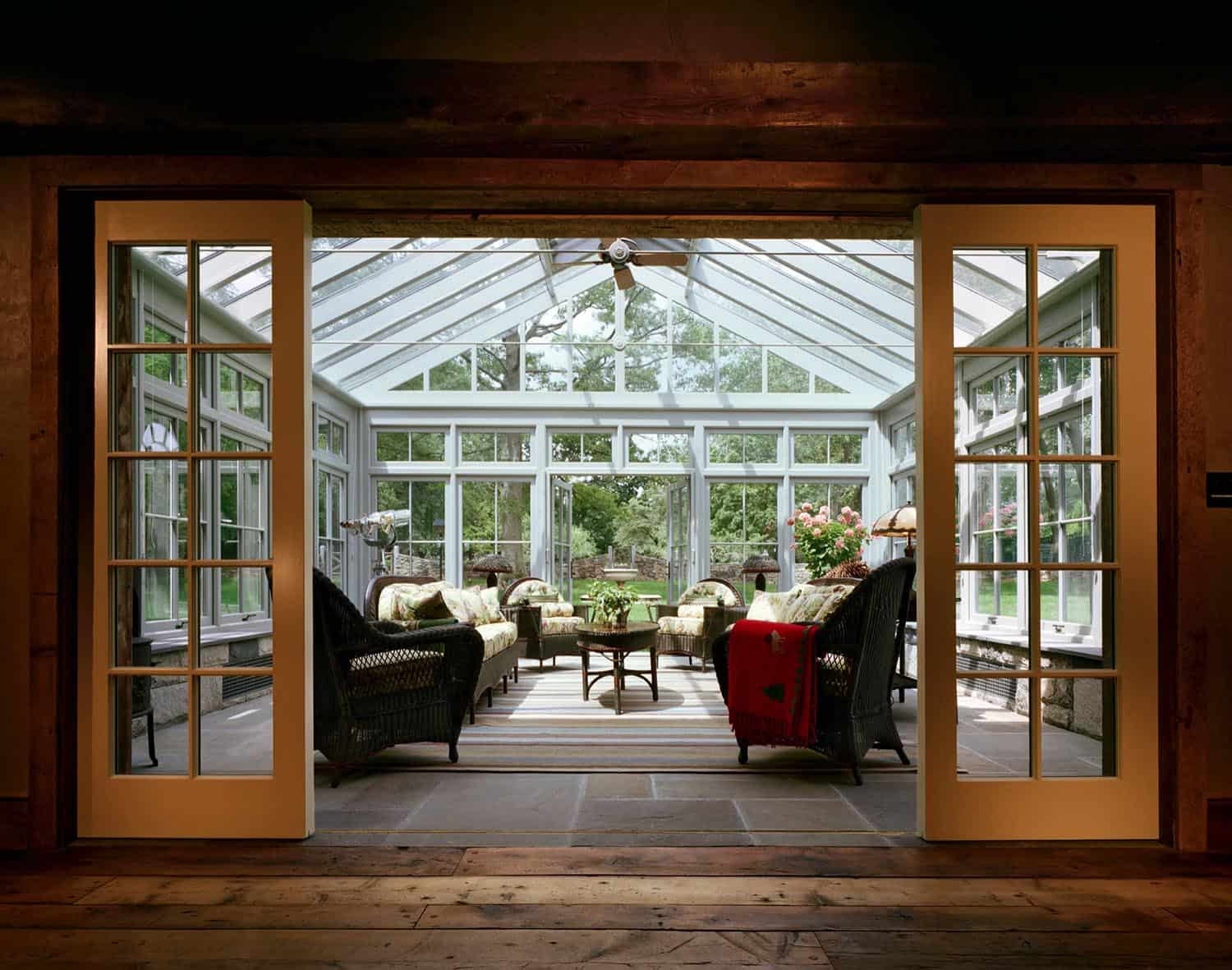 rustic-barn-farmhouse-sunroom