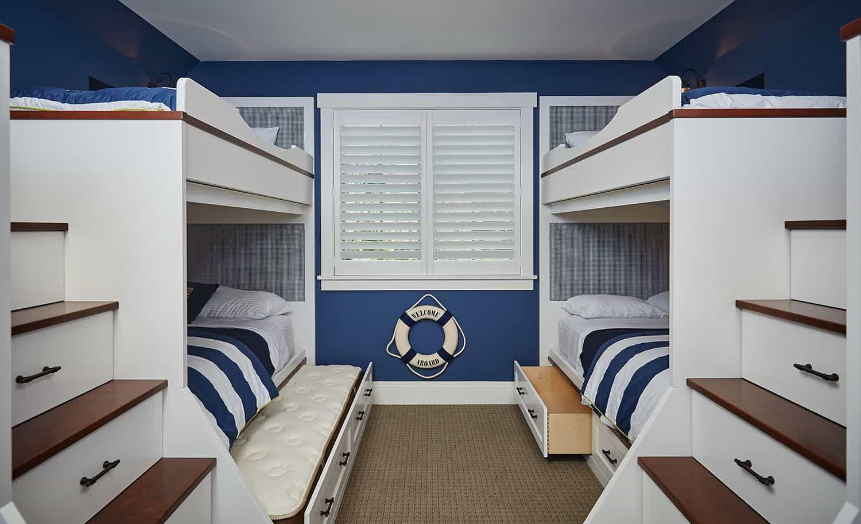 traditional-kids-bunk-bedroom