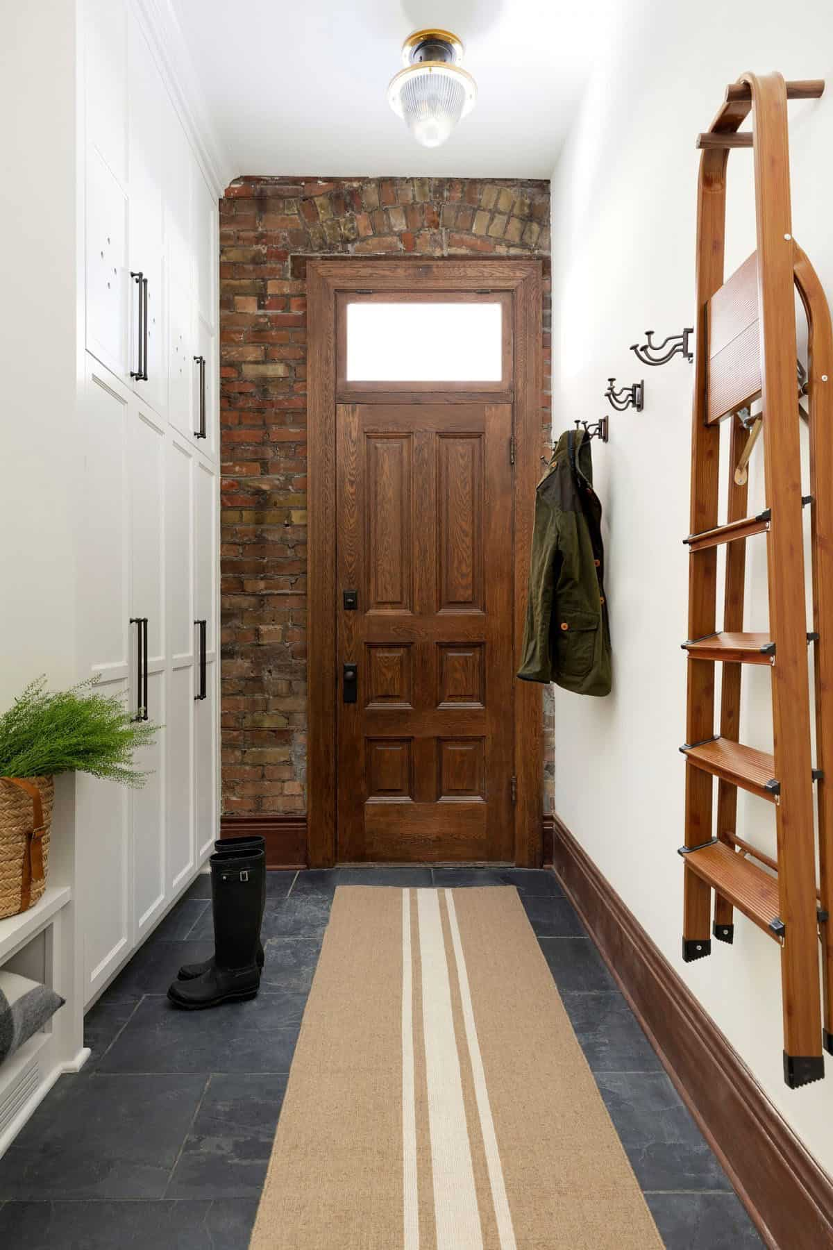 transitional-mudroom-entry