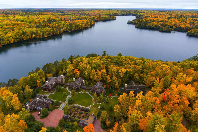 lake-camp-retreat-aerial-view