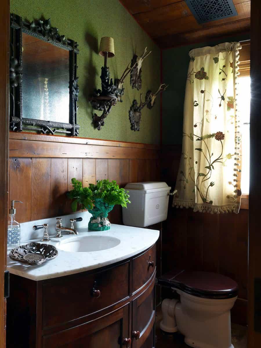 rustic-powder-bathroom