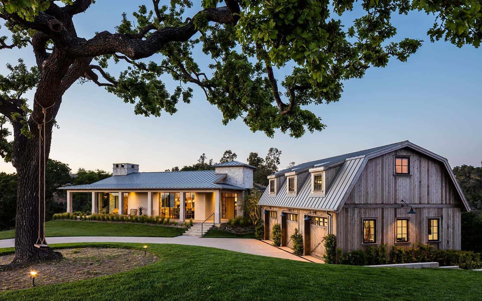 Breathtaking Santa Barbara country style home in Santa Ynez Valley