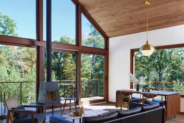 featured posts image for Tour a Scandinavian mid-century retreat in the Catskills Mountains
