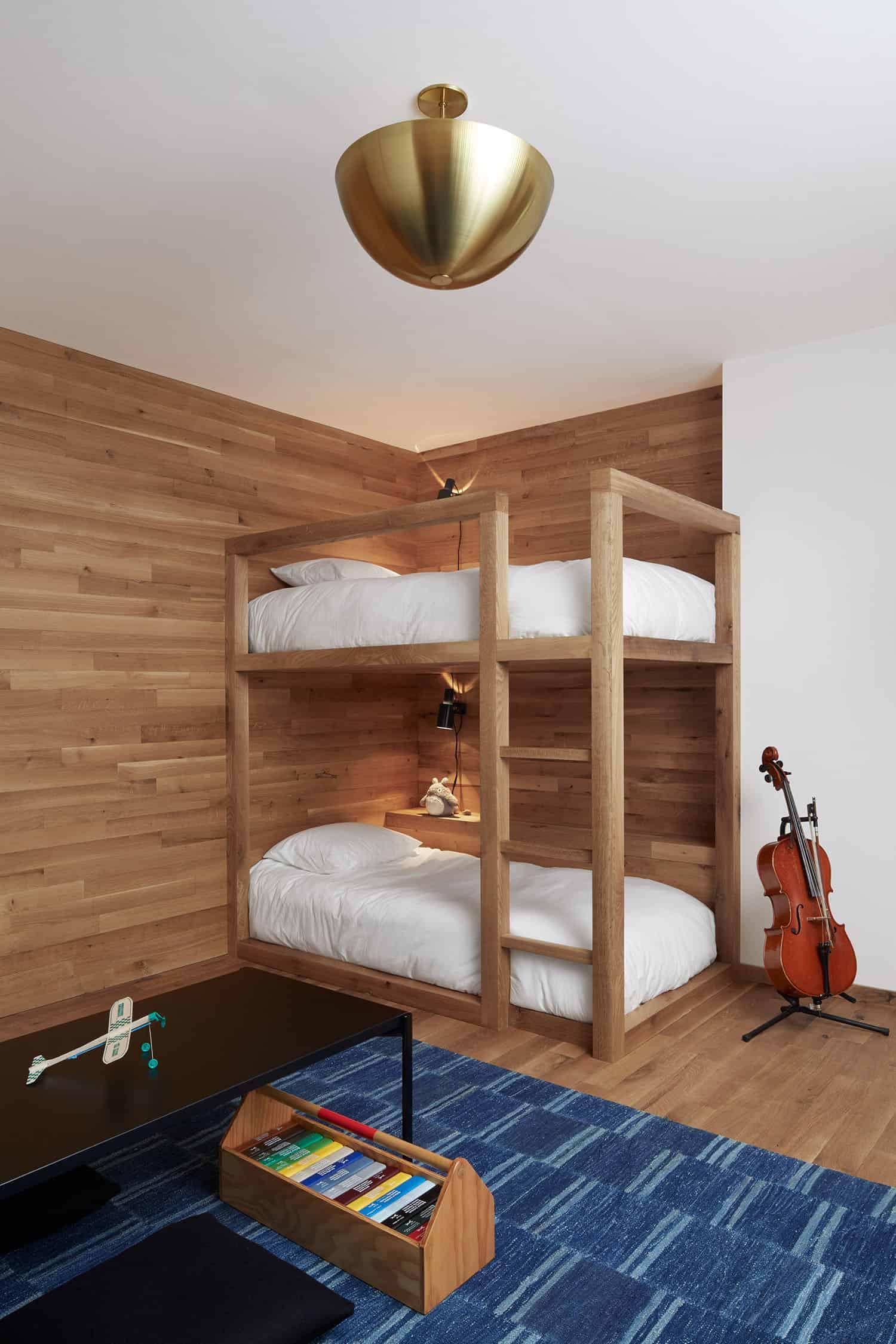scandinavian-mid-century-kids-bunk-bedroom
