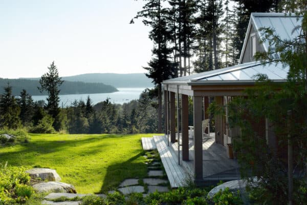 featured posts image for Secluded cabin retreat on the San Juan Islands with a writer's cottage
