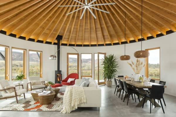 featured posts image for Retreat to this fabulous mountain lake house in Colorado's high desert
