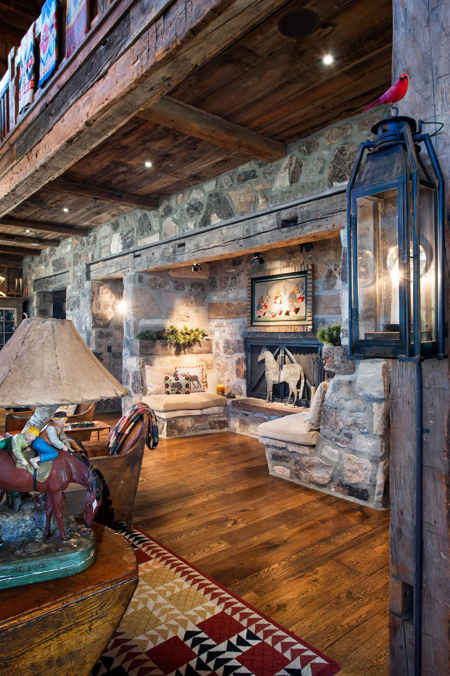Rustic-Great-Room-Fireplace